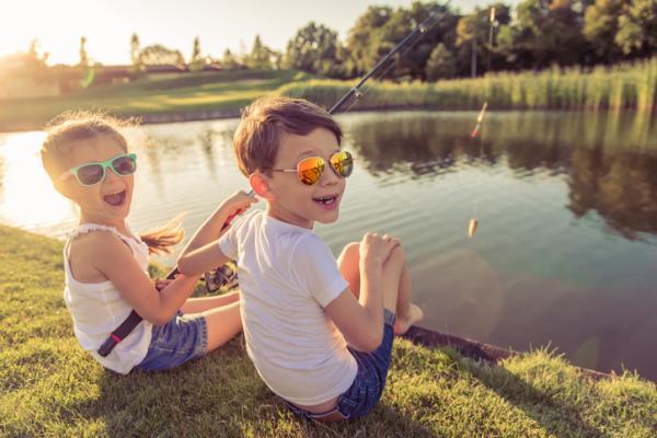 Juegos para niños hiperactivos - ¡A pescar!