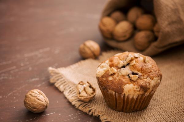 Desayunos para niños de 2 años - Muffins y fruta
