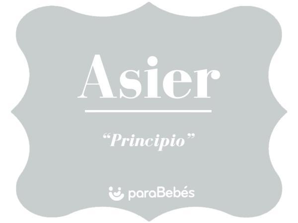 Significado del nombre Asier