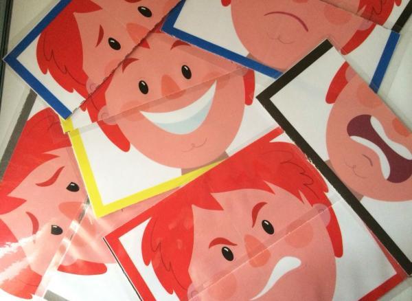 Manualidades para trabajar las emociones - Puzzle expresivo