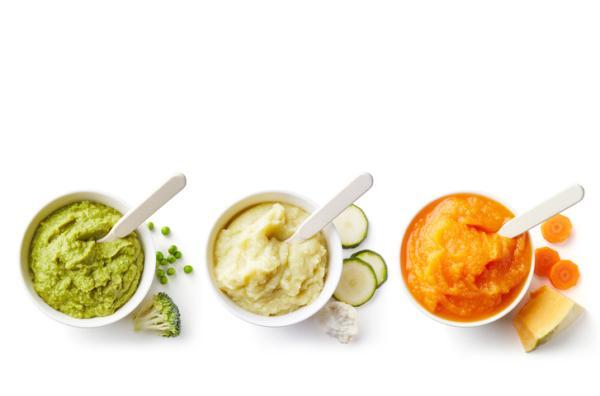 Recetas para bebés de 7 meses - Puré de patatas, zanahoria y judías verdes