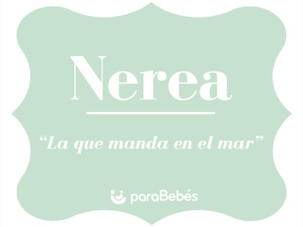 Significado del nombre Nerea