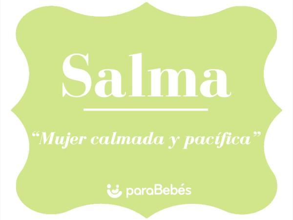 Significado del nombre Salma