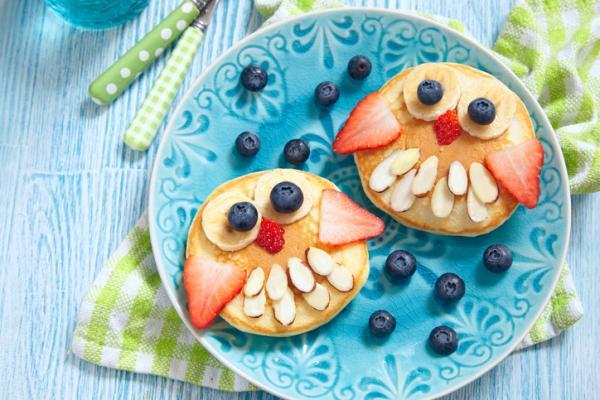 Recetas para bebés de 1 año - Tortitas de manzana