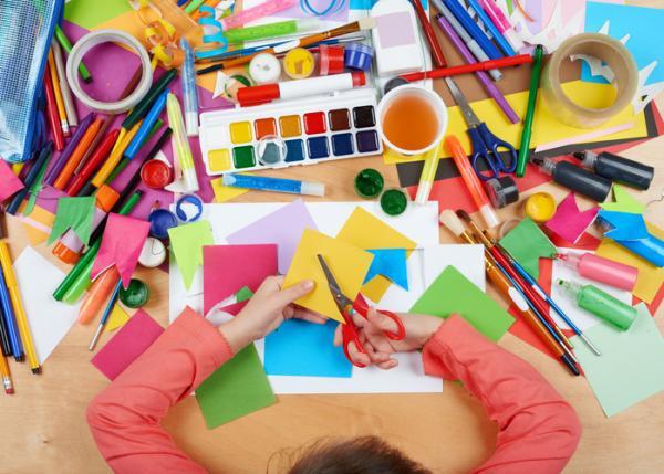 Juegos para niños de cuatro años - Collage
