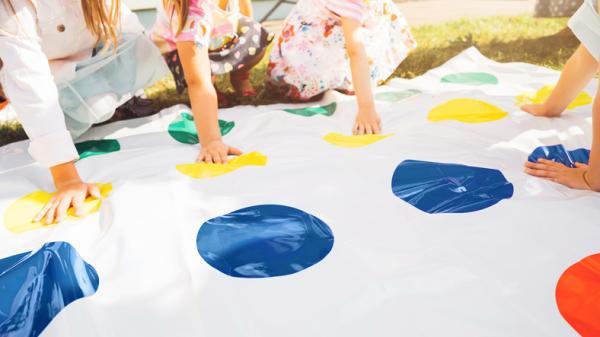 Juegos para niños de cuatro años - Twister