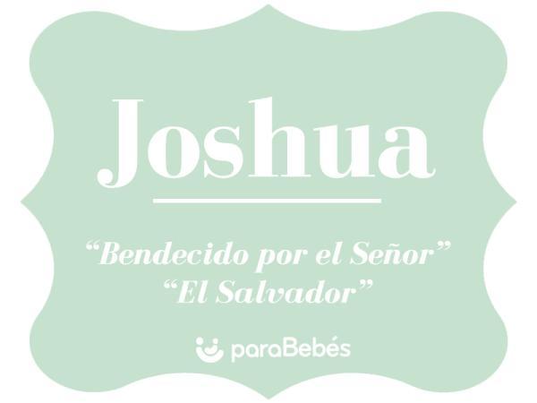 Significado del nombre Joshua