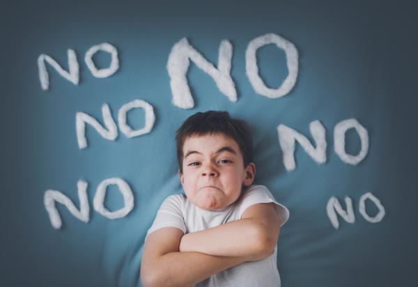 Cómo tratar a un niño negativista desafiante