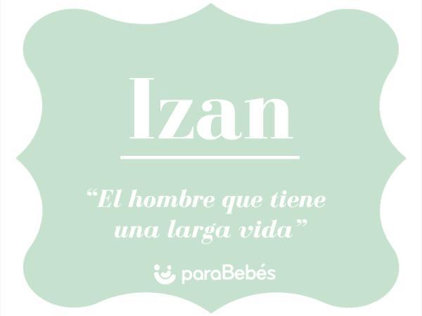 Significado del nombre Izan