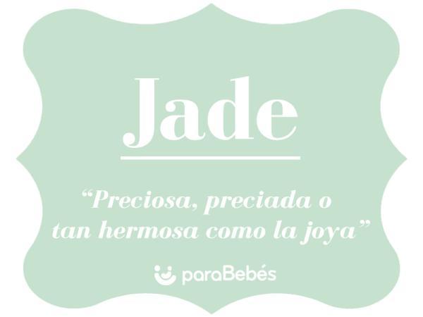 Significado del nombre Jade