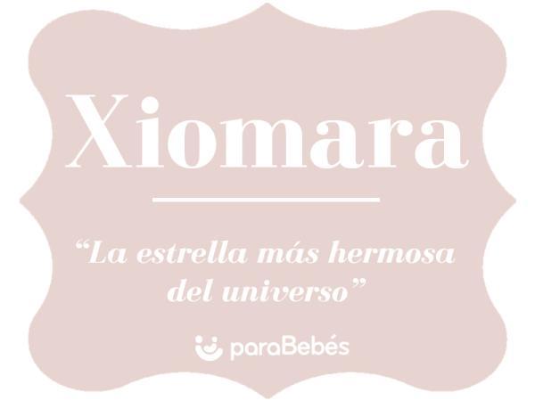 Significado del nombre Xiomara