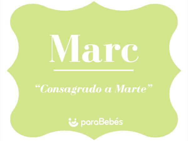Significado del nombre Marc
