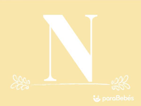 Nombres de niño con la letra N