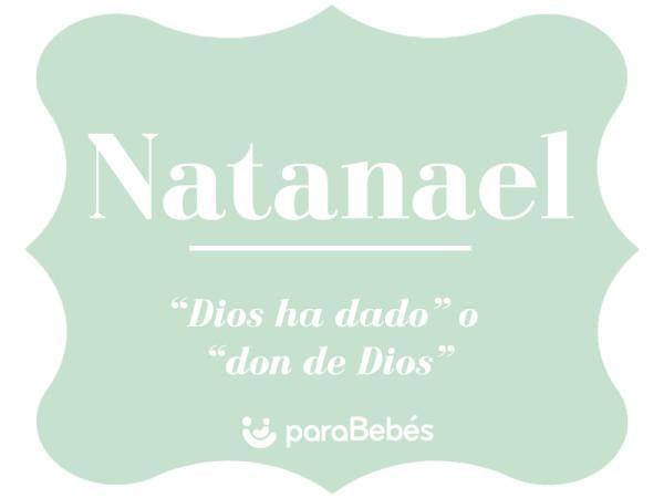 Significado del nombre Natanael
