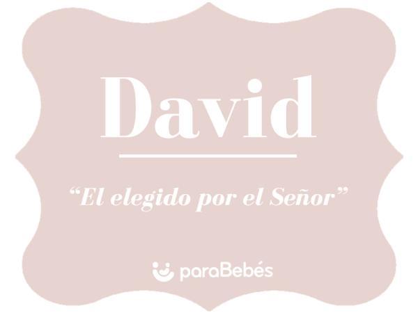 Significado del nombre David