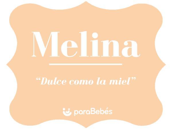 Significado del nombre Melina