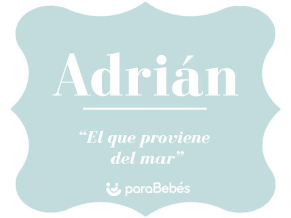 Significado del nombre Adrián