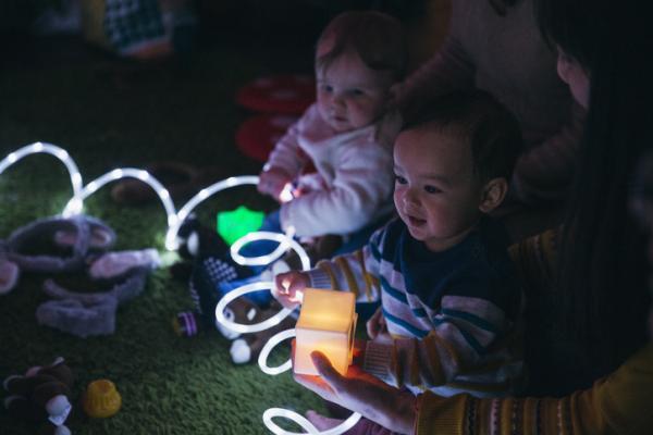 Actividades de estimulación para niños de 1 a 2 años - Actividades de estimulación sensorial para niños de 1 a 2 años