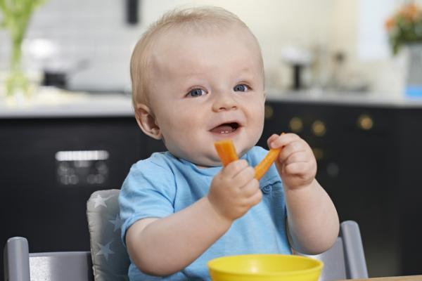Verduras para bebés de 6 meses - Zanahoria