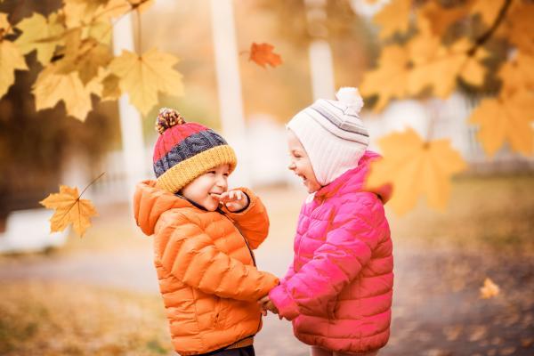 Actividades de otoño para infantil - Excursión al campo