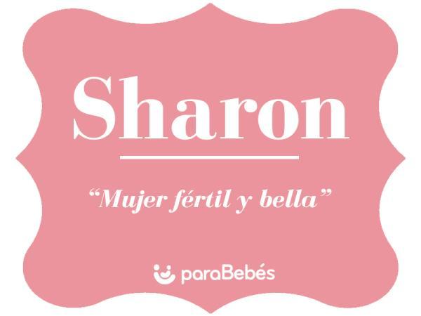 Significado del nombre Sharon