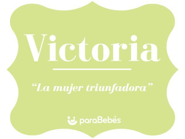 Significado del nombre Victoria