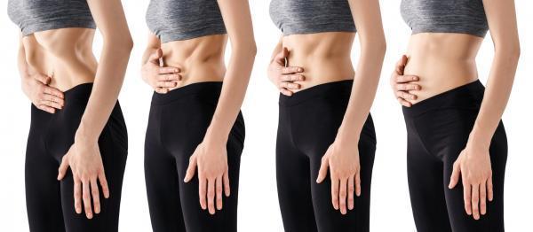 Ejercicios hipopresivos postparto - Marca los abdominales aguantando la respiración