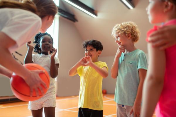 Juegos deportivos para niños - El picón