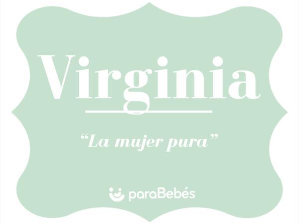 Significado del nombre Virginia