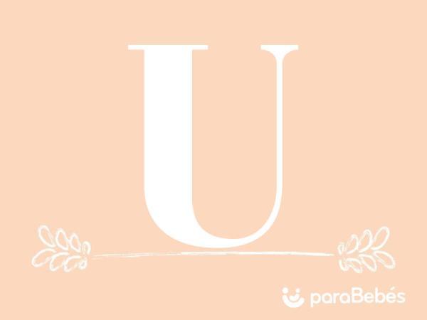 Nombres de niña con la letra U