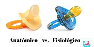 Chupete anatómico o fisiológico, ¿cuál es mejor?