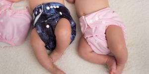 Cómo funcionan los pañales de tela para bebés