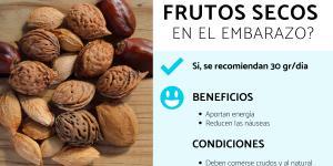 ¿Se pueden comer frutos secos en el embarazo?