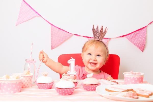 Ideas para el primer cumpleaños de un bebé - Decoración