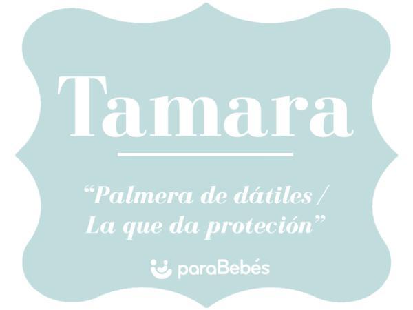 Significado del nombre Tamara