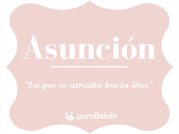 Significado del nombre Asunción