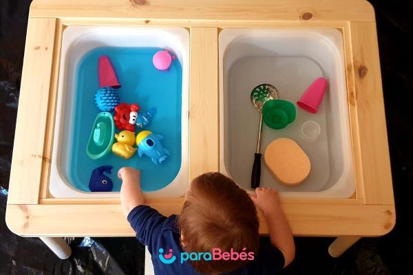 Juegos para bebés de 1 año - Agua
