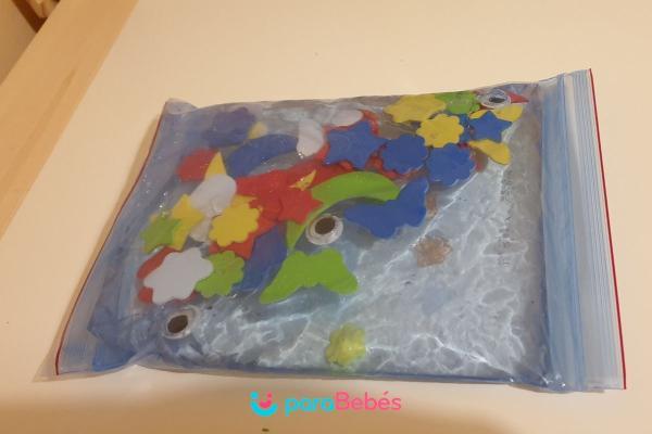 Juegos para bebés de 1 año - Bolsa sensorial