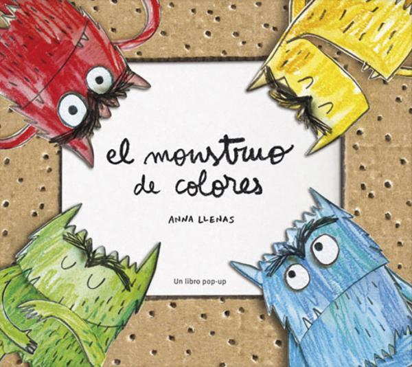 Cuentos para trabajar valores en Educación Infantil - El monstruo de colores. Editorial Flamboyant