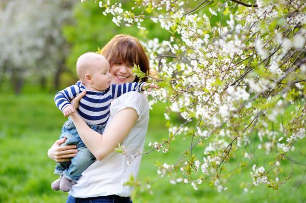 Juegos para bebés de 3 meses - Paseos