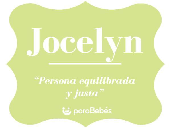 Significado del nombre Jocelyn