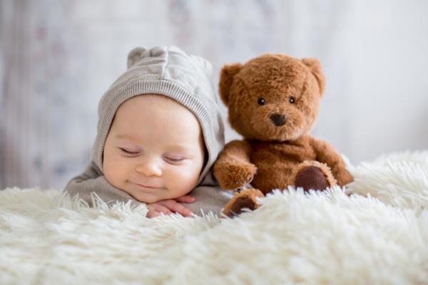 Juegos para bebés de 3 meses - Texturas