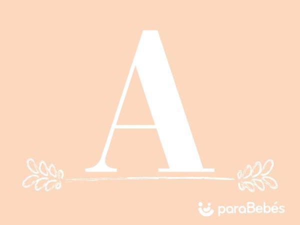 Nombres de niña con la letra A