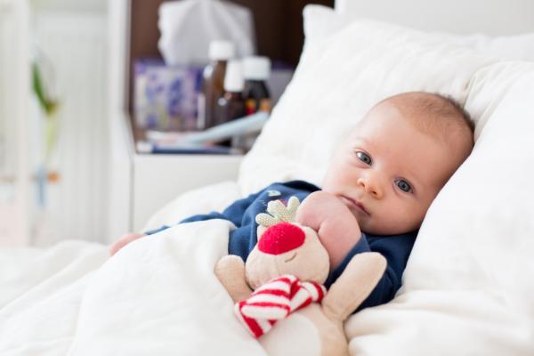 Síntomas de influenza en bebés