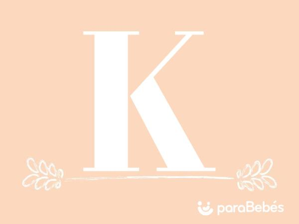 Nombres de niña con la letra K