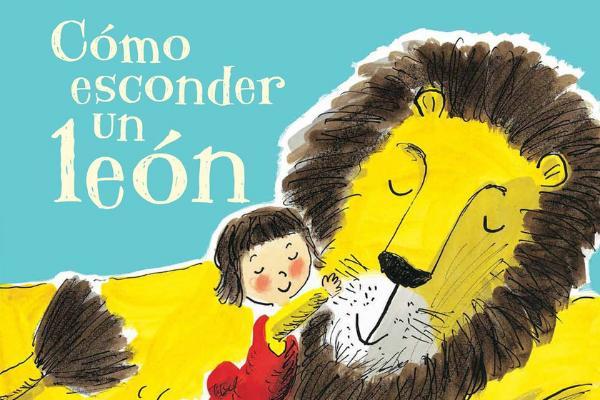 Libros para niños de 4 a 5 años - Cómo esconder un león. Editorial B de Block