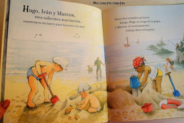 Libros para niños de 4 a 5 años - El capitán Hugo y los piratas. Editorial Juventud