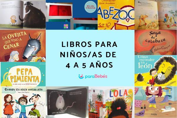 Libros para niños de 4 a 5 años