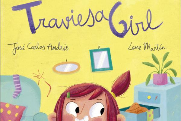 Libros para niños de 4 a 5 años - Traviesa girl. Editorial Miau