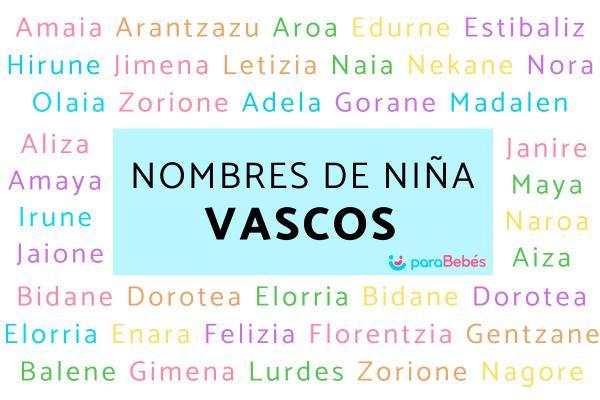 Nombres de niña vascos